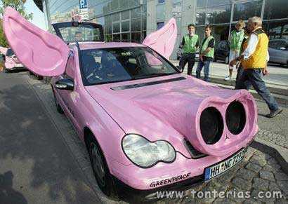 El coche cerdo